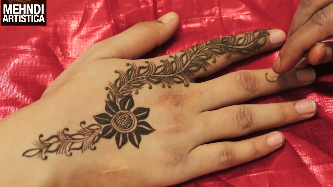 Simple Quick Mehndi Designs : Trendy quick easy simple mehndi designs for hands latest