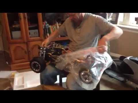 King Motors Baja 5B KSRC-002 Gas 1/5th Scale Buggy Unboxing Silly RB's RC's