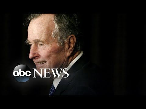 Im here: Parts of former President George H.W. Bushs diary released