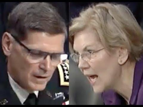 """PEOPLE ARE SUFFERING!!!"" Elizabeth Warren EXPOSES Trump's Illegal War During Senate Hearing"