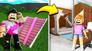 Encontré mi SISTER *SECRET* BLOXBURG BASEMENT!! (Roblox)