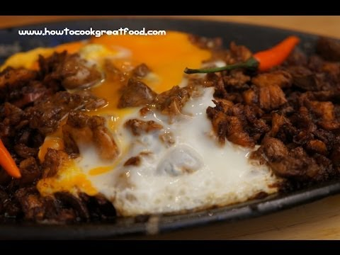Filipinio Food - Sizzling Chicken Sisig Recipe Pinoy cooking - YouTube