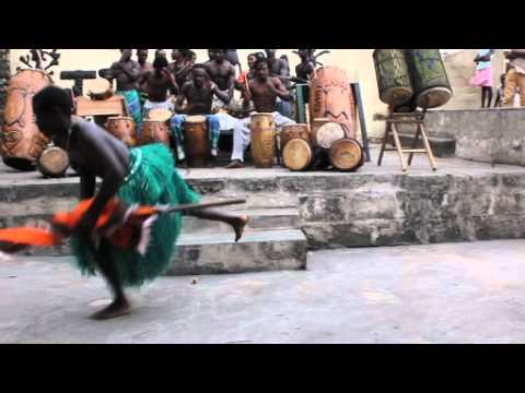 Asafo (War Dance) Traditional African Dance-Part 1
