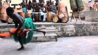 Asafo (War Dance) Traditional African Dance-Part 1