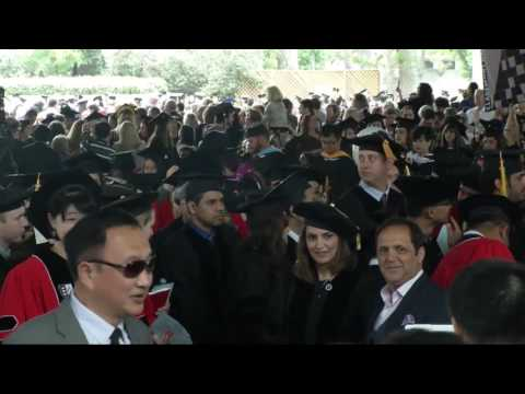 Claremont Graduate University Commencement 2016