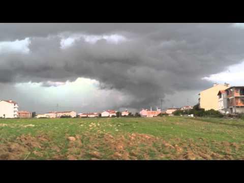 2014.08.07 şiddetli yağış öncesi...