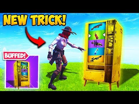 THIS VENDING MACHINE TRICK IS OP! - Fortnite Funny Fails and WTF Moments! #496 thumbnail