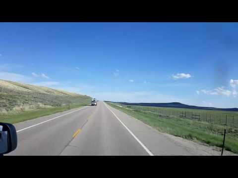 Bigrigtravels Live! East US191 through Pinedale,  Wyoming June 9, 2016
