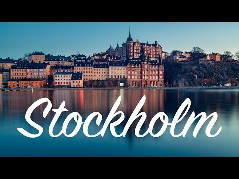 Blue Hour Beauty [Photographing Stockholm]