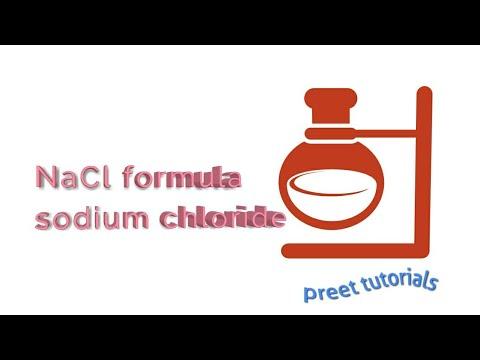 Sodium Chloride Formula