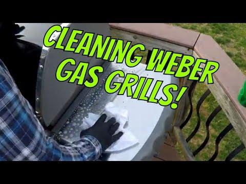 Cleaning Weber Genesis Grills