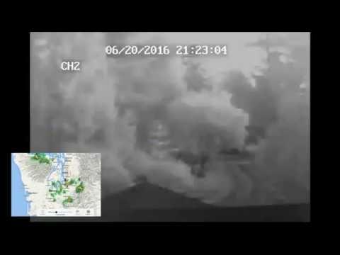 Lighning Storm near Federal Way, Wa. 6/20/2016