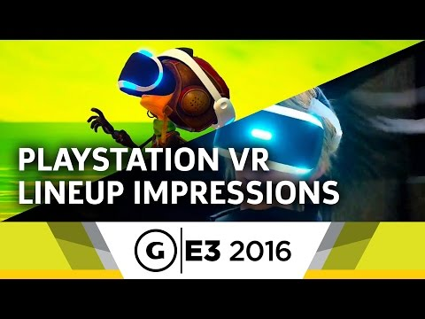 PlayStation VR Lineup Impressions at E3 2016