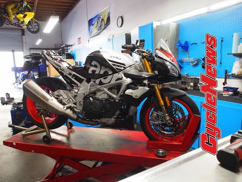 2019 Aprilia Tuono 1100 Factory Pikes Peak Racer - Cycle News