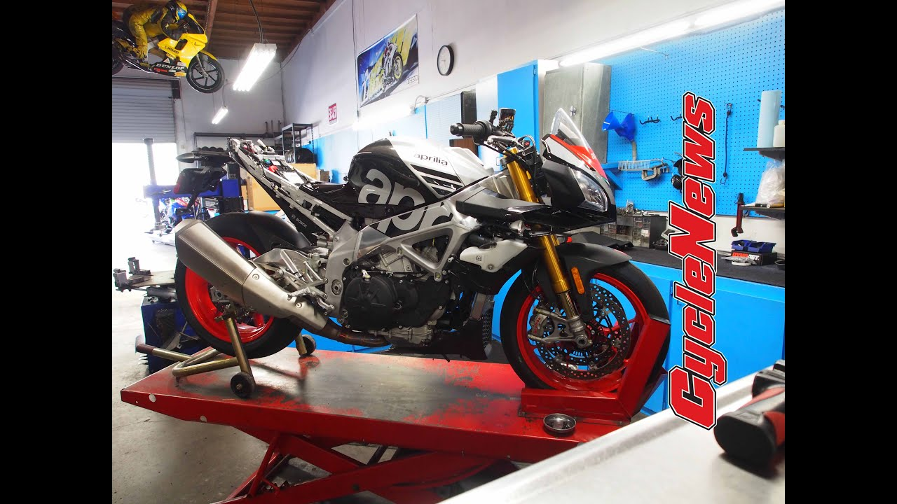 Project Thunder Part One: Making our Aprilia racer! - Cycle News