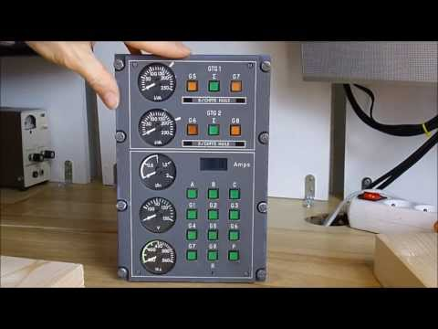 Military Aircraft Power Generators Control Panel Teardown