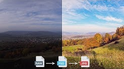 Adobe Camera Raw: RAW-Bilder entwickeln und bearbeiten (+ Camera-Raw-Filter) – Photoshop-Tutorial