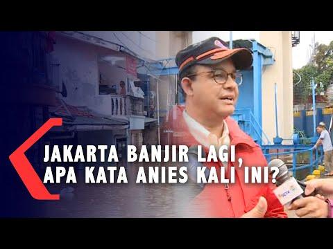 [FULL] : Pernyataan Anies,  Soal  Kenapa Jakarta Banjir Lagi