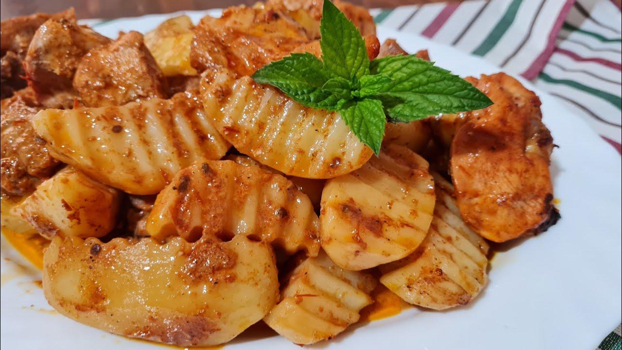 Такую вкусную Картошку я ещё не елa.  Лёгкий и новый рецепт кaртошки.