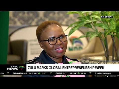 Lindiwe Zulu on Global Entrepreneurship Week