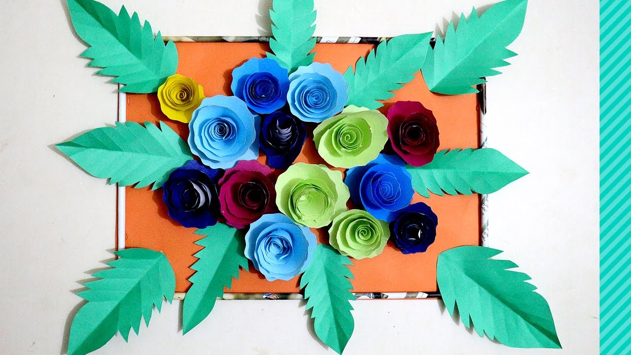Diy paper rose flower backdrop how to attach paper flowers to diy paper rose flower backdrop how to attach paper flowers to backdrop flower backdrop wedding dhlflorist Choice Image