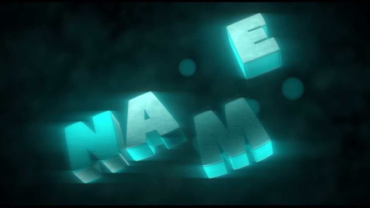 free animated video intro templates - best free 3d text animation blender intro template