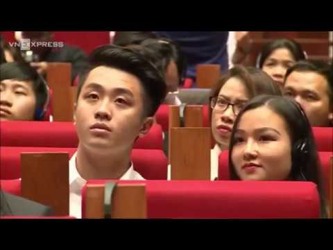 Jack Ma talk with students in Ha Noi (Vietnam) in 2017