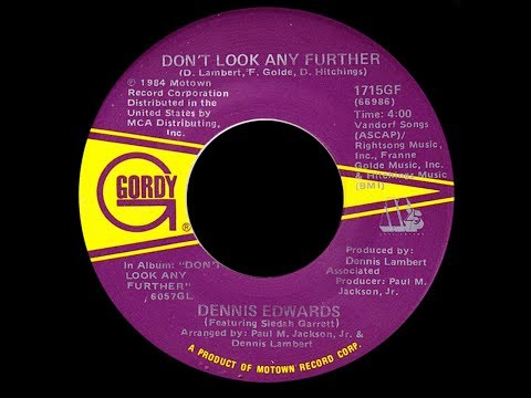 Dennis Edwards & Siedah Garrett ~ Don't Look Any Further 1984 Disco Purrfection Version