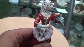 Meissen фигура из серии Парижские крикуны на продажу