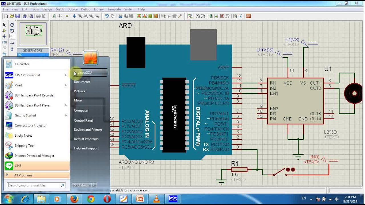 Lecture 28 Part 5 Speed Control For Dc Motor Using Pwm And