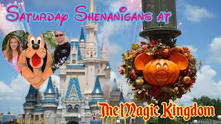 🔴LIVE.Saturday Shenanigans At The Magic Kingdom. Pirates. Jungle Cruise. Small World. Boatrides!