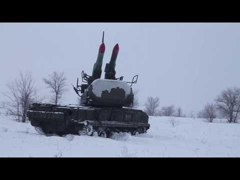 Стрельбы из «Бук-М2» на Тоцком полигоне в Оренбургской области