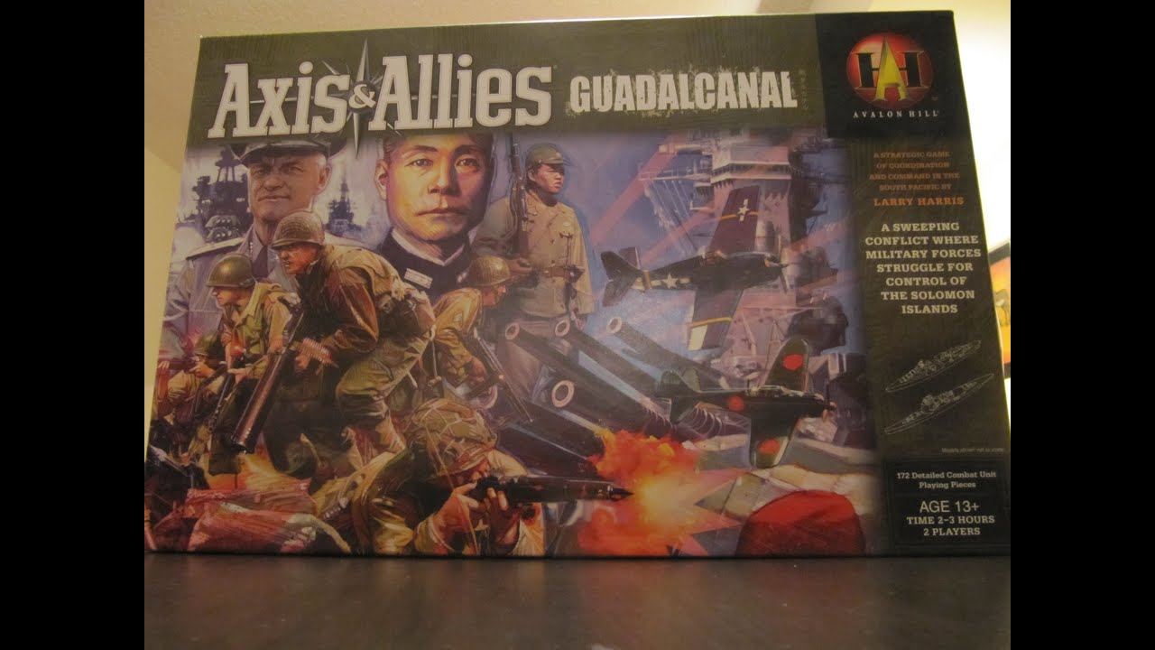 Axis & Allies - Guadalcanal