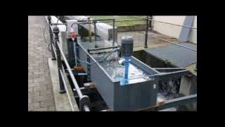Microhydro Installation in Germany (Low Head turbine)