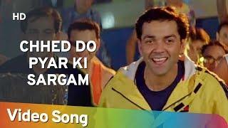 Chhed Do Pyar Ki Sargam Aashiq 2001 Bobby Deol Karisma Kapoor Filmi Gaane