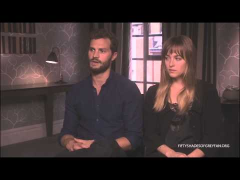 Jamie Dornan and Dakota Johnson Interview - Fifty Shades of Grey
