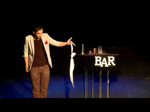 Andrew Boyd - the magic bartender -