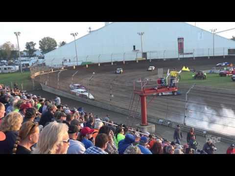 Kokomo Speedway | 10.15.16 | Kokomo Klash X | Modifieds | Heat 1