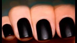 як зробити лак для нігтів матовим в домашніх умовах