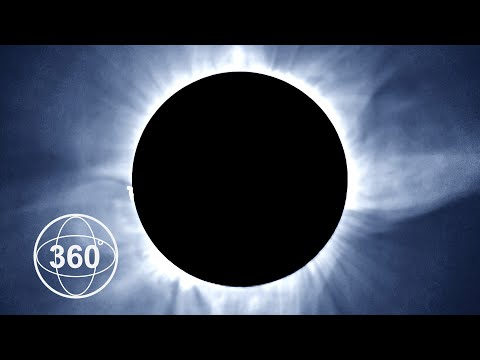 Thumbnail: A Once In A Lifetime View Of The Total Eclipse in 360°