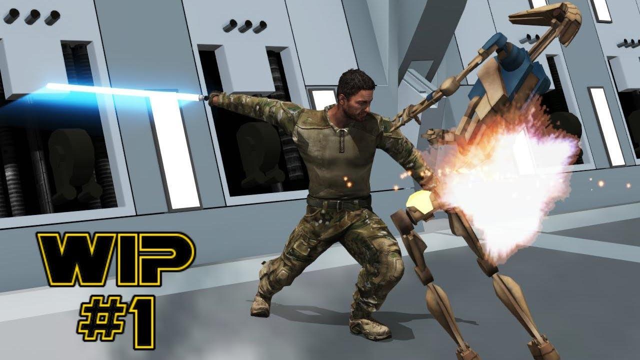 Jedi Power Battles - Arma 3 Mod WIP #1