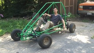 painting the off road go kart part 2