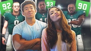 MY GIRLFRIEND DRAFTED THE BEST TEAM IN THE NFL! Madden 19