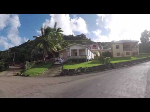 Grenade Route vers Grand Anse, Gopro / Grenada Road to Grand Anse, Gopro