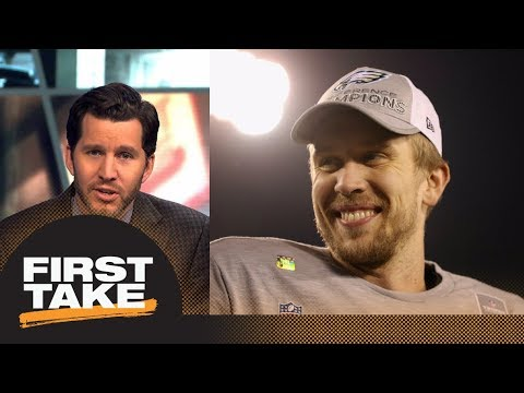 Will Cain on Nick Foles: I gotta eat crow, I did not see this coming | First Take | ESPN