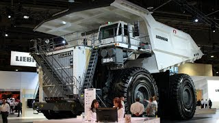 Liebherr's largest dump truck on display at Minexpo 2016