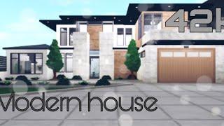 Roblox bloxburg 42k modern house
