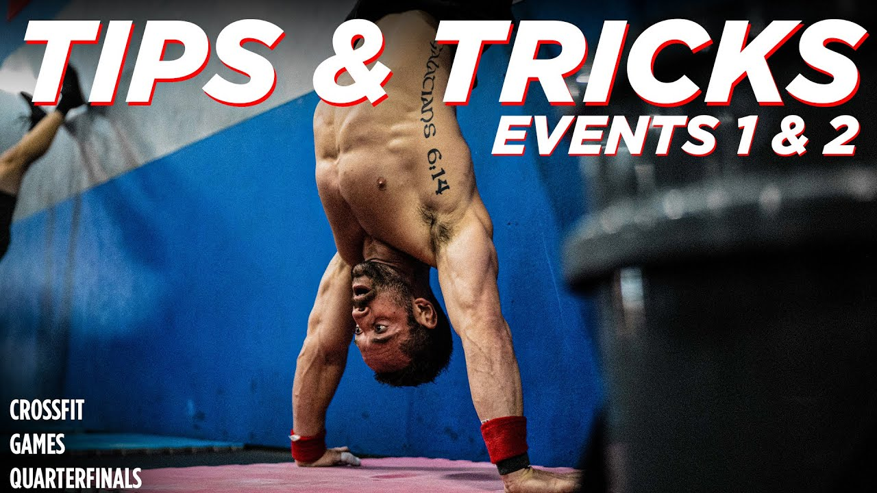 Download CROSSFIT GAMES QUARTERFINALS Tests 1 & 2 // Tips & Tricks w/RICH FRONING