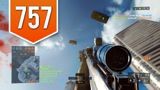 BATTLEFIELD 4 (PS4) - Road to Max Rank - Live Multiplayer Gameplay #757 - SHARPSHOOTER!