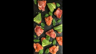 How to make TOMATO TOAST WITH  AVOCADO , SMOKED SALMON, SERRANO HAM
